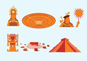 Alte Inkas Vektor