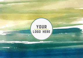 Free Paint Strokes Logo Hintergrund