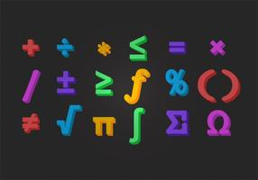 Vektor Math Symbol
