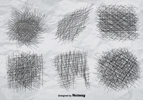 Bleistift Vector Crosshatch