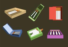 Cigarettpaket Illustration Vektor