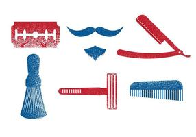 Barberverktyg Vector