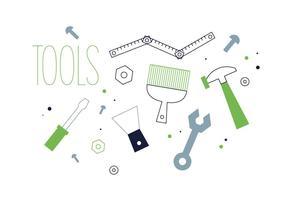 Freie Werkzeuge Vektor
