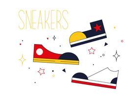 Free sneakers vector