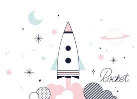 Free Rocket Vektor