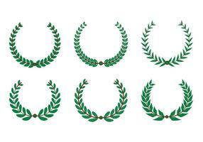 Oliven Kranz Vektor