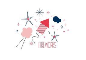 Gratis Fireworks Vector