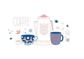 Freier Kaffee Vektor