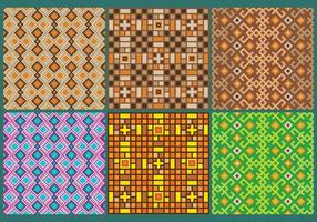 Inka-Muster-Vektoren