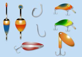 Gratis Fiske Lure Vector