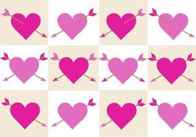 Gratis Valentines Arrow Vector