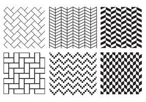 Gratis Herringbone Pattern Vector