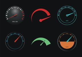 Gratis Tachometer Vector Illustration