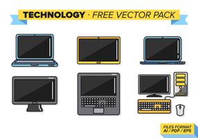 Teknologi Gratis Vector Pack
