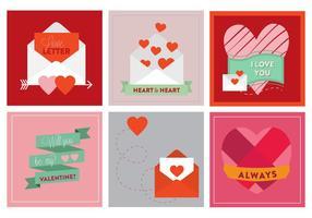 Freier Valentinstag Vektor