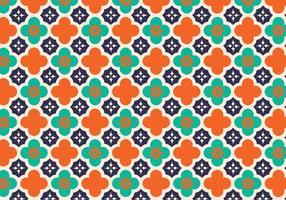 Arabisk mönster vektor bakgrund