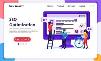 seo-analys webbplats utvecklingskoncept