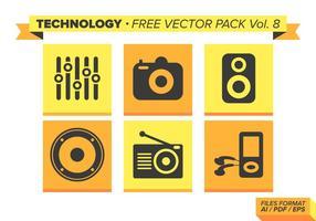 Teknologi Gratis Vector Pack Vol. 8