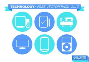 Teknologi Gratis Vector Pack Vol. 7