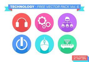 Teknologi Gratis Vector Pack Vol. 6
