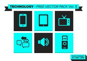 Technologie Free Vector Pack Vol. 5