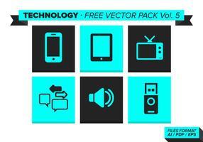 Teknologi Gratis Vector Pack Vol. 5