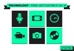 Teknologi Gratis Vector Pack Vol. 4