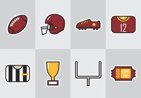 Amerikansk fotboll ikon