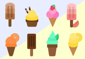 Freier Eiscreme-Vektor