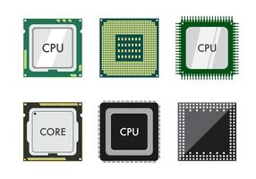 Kostenlose CPU-Vektor