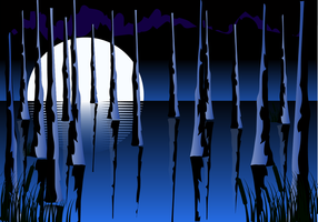 Free Swamp Hintergrund Vektor
