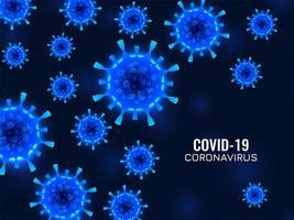 abstrakter Covid-19-Coronavirus-Infektionshintergrund