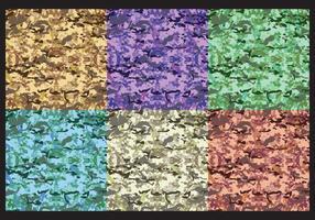 Färgglada Multicam Mönstervektorer