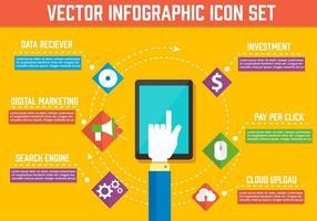Gratis vektorelement för digital marknadsföring