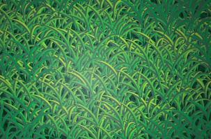 grüner Grashintergrund vektor