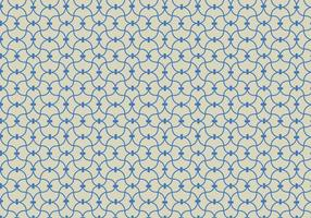 Blå linjär mönster bakgrundsvektor vektor