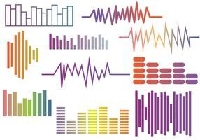 Free Sound Bars Vektoren