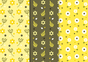 Freier Blumenmuster-Vektor vektor