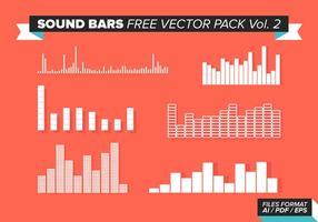 Sound Bars kostenlos Vektor Pack Vol. 2