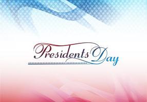 Präsidenten-Tageskarte vektor