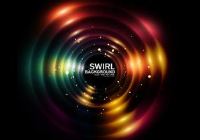 Abstract Circular Bunte Swirl vektor