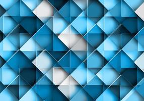 Sömlöst geometriskt blått mönster vektor