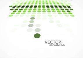 Grüner punktierter Hintergrund vektor