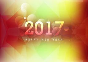 Glödande Gott Nytt År 2017