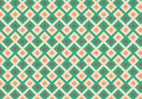 Kvadraterad geometrisk mönster vektor