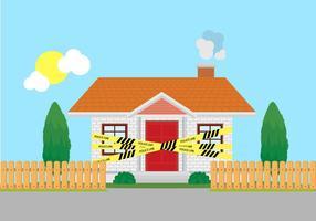 Home Crime Scen Police Line Vektor