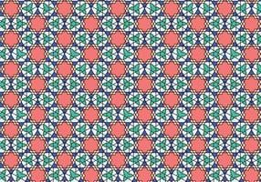 Geometrisk marockansk mönster Bakcground vektor