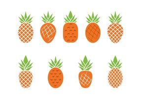 Kostenlose Ananas Vektor-Illustration