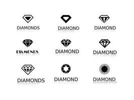 Free vector diamonds logos