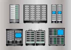 Serverns rack vektor